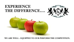 Experience The Difference